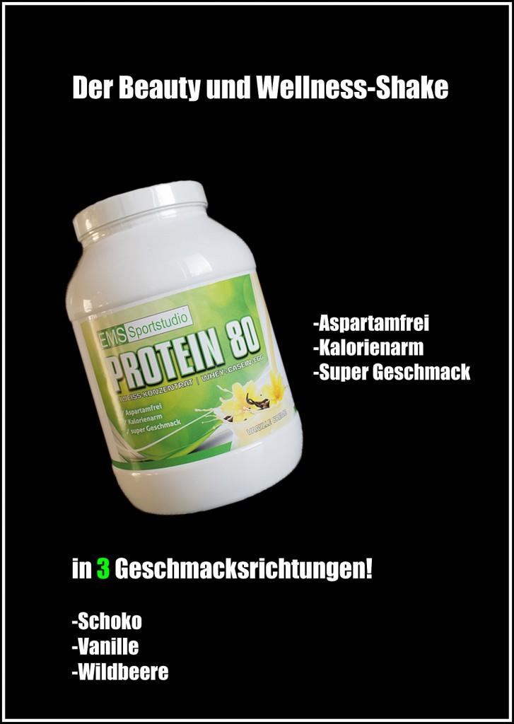 EMS Unterhaching Eiweiß Shake