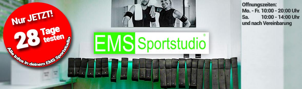 EMS Sportstudio - Training in München Schwabing und Unterhaching